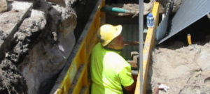 Trench safety for Sydney Water construction