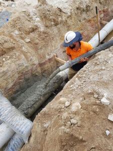 Sydney Water sewer encasements