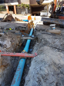 Sydney Water sewer sideline property connection sewer minor works