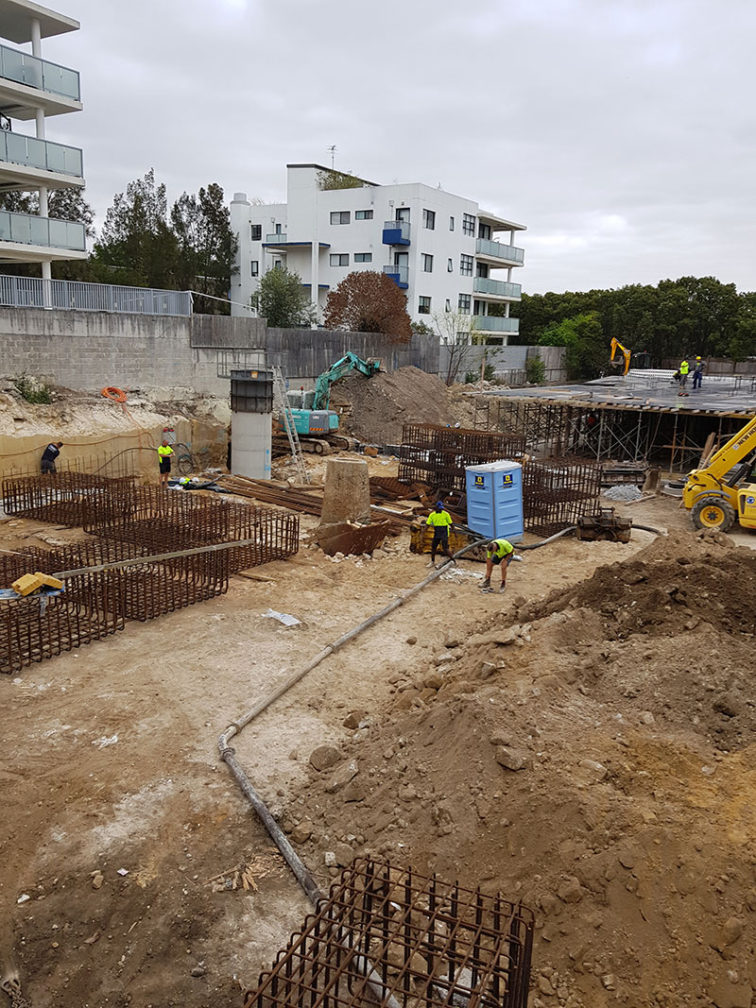 Sydney Water accredited for manhole construction works