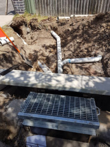 Ausflow constructs pits, lintels, grates, and any council stormwater pipe and fitting construction.