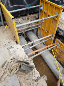 Connection to council stormwater reticulation pits