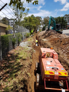 WSA Sewer codes and Sydney Water have strict compaction requirements