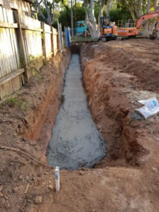 Sydney Water sewer encasement