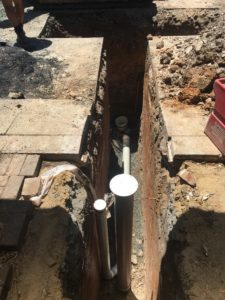 Connection to Sydney Water sewer main